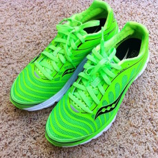 Green indoor running shoes for green home cleaning