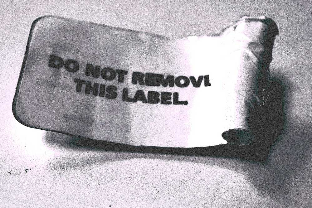 Remove the label you rebel green cleaning tip to remove sticky residue